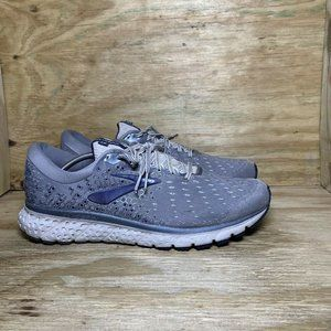 Brooks Glycerin 17 Running Shoes Mens Size 14 D Gray Athletic 1102961D015